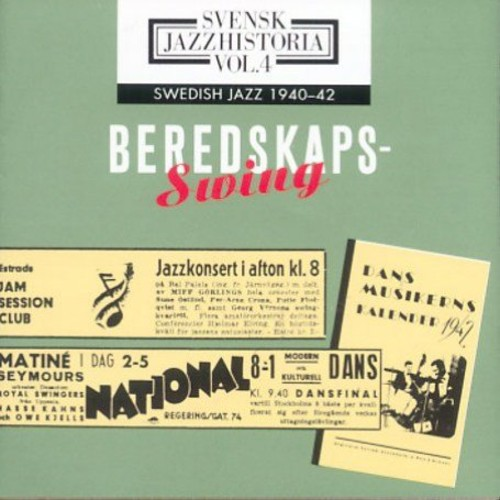 Swedish Jazz 1940-1942 Volume 4 /  Various