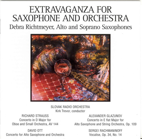 Extravaganza for Saxophone & Orchestra