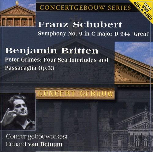 Schubert: Sym No 9 /  Britten: Peter Grimes