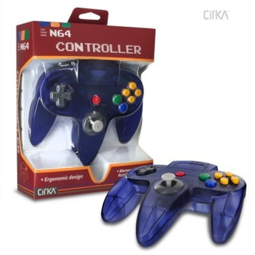 - CirKa N64 Controller: Grape Purple for Nintendo