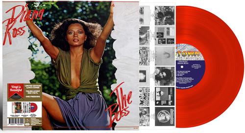 The Boss - Bright Red Vinyl, Import 2017