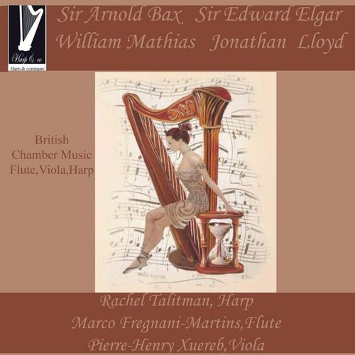British Chamber Music for Fluteviola & Harp