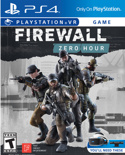 - Firewall: Zero Hour VR for PlayStation 4