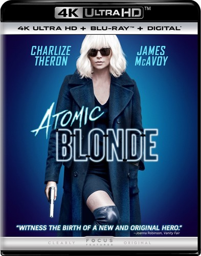 Atomic Blonde [4K Ultra HD Blu-ray/Blu-ray]