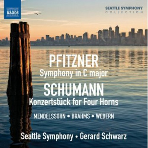 Seattle Symphony - Sym In C Major / Konzertstuck For Four Horns