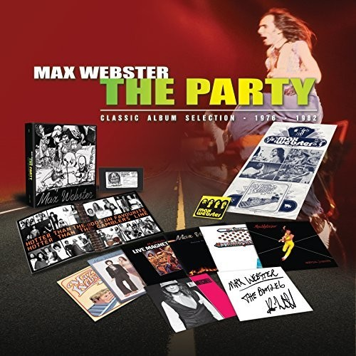 Max Webster - Party (Box) (Can)