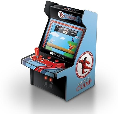 My Arcade Dgunl3204 Karate Champ Micro Player Ret - My Arcade Karate Champ Micro Arcade Machine