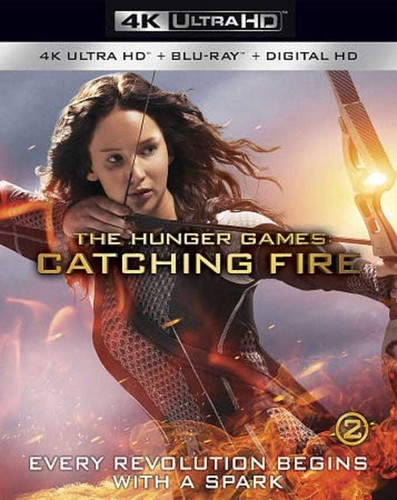 Hunger Games: Catching Fire [4K Ultra HD Blu-ray/Blu-ray]