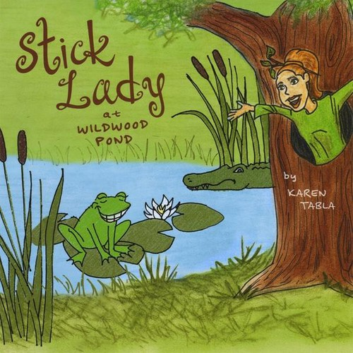 Stick Lady at Wildwood Pond