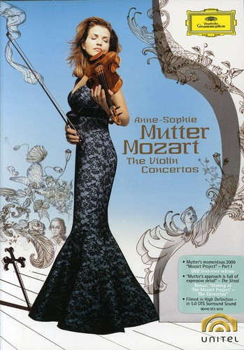 Anne-Sophie Mutter: Mozart: The Violin Concertos