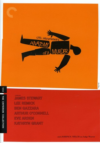 Anatomy of a Murder (Criterion Collection)