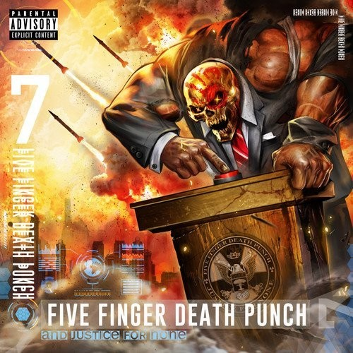 Five Finger Death Punch - And Justice For None [Indie Exclusive Limited Edition Signed CD]