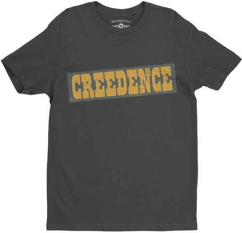 Creedence Clearwater Revival - Creedence Clearwater Revival Creedence Black Lightweight Vintage Style T-Shirt (2XL)