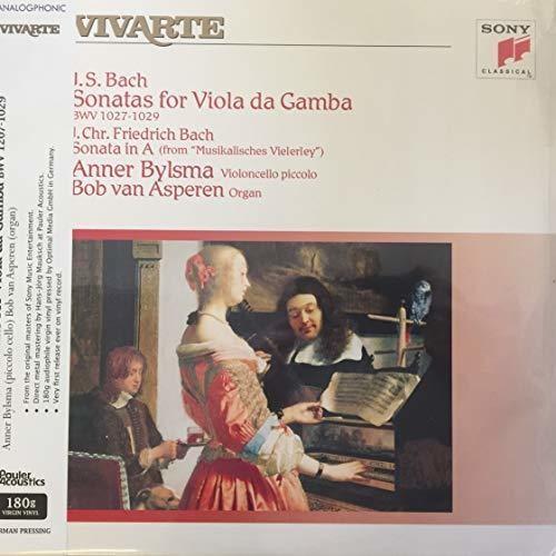 Sonatas For Viola Da Gamba & Sonata In A (J.S. Bach & J.C.F. Bach)
