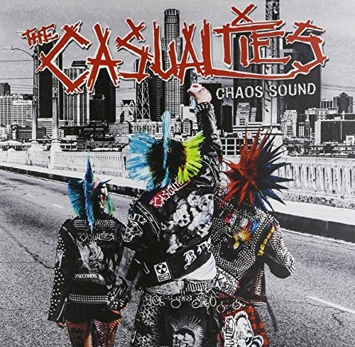 The Casualties - Chaos Sound [Indie Exclusive Limited Edition Transparent Neon Orange Vinyl]