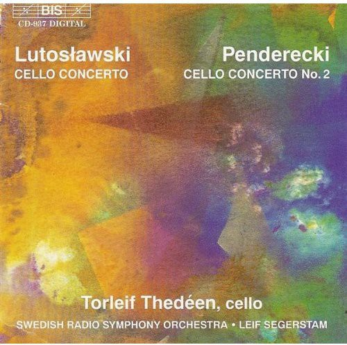 Lutoslawski: Cello Cto /  Penderecki: Cto #2