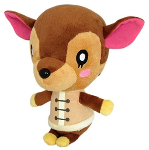 "- Little Buddy Animal Crossing Fauna 7"" Plush"