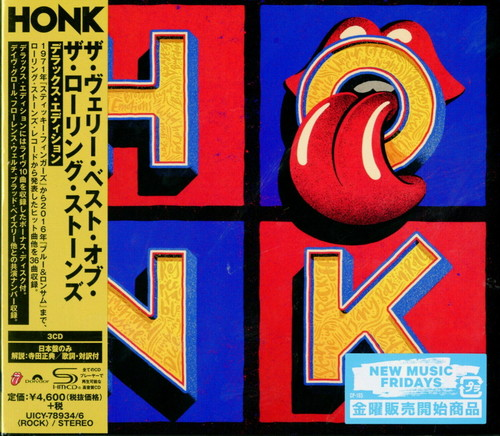 The Rolling Stones - Honk [Import Deluxe]
