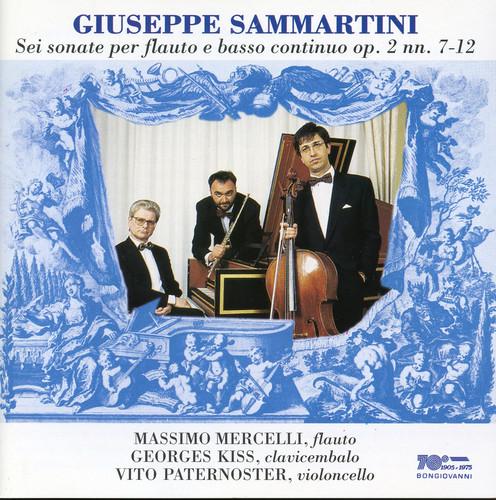 Sonate Per Flauto E Basso Continuo Op 2 NN 7-12