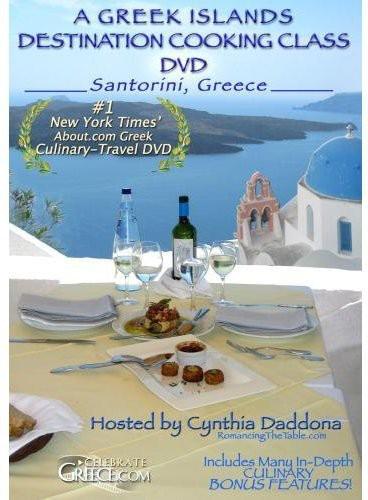 Greek Islands Destination Cooking Class in Santori