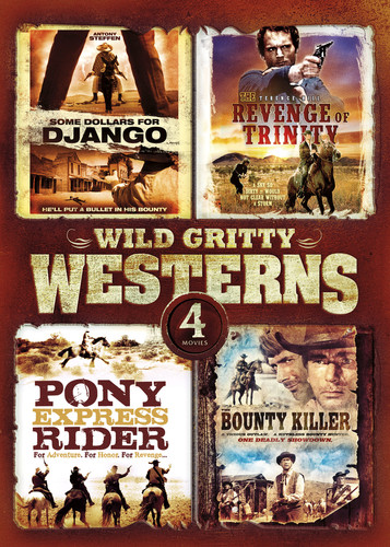 4-Movie Wild Gritty Westerns