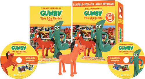 The Adventures of Gumby: The 60s Series Volume 1 With Bendable
