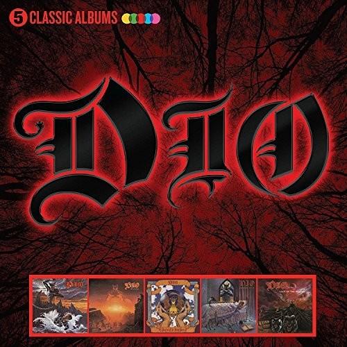 Dio - 5 Classic Albums (Box) (Uk)