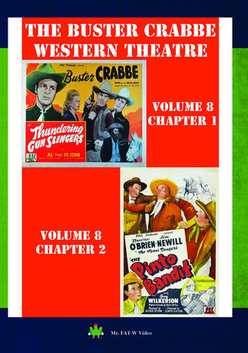 The Buster Crabbe Western Theatre: Volume 8