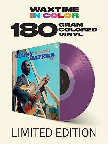 Muddy Waters - At Newport 1960 [Colored Vinyl] [180 Gram] (Purp) (Spa)