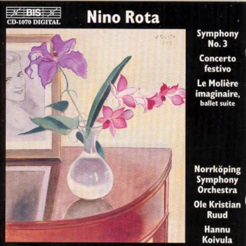 Symphony 3 /  Concerto Festivo Per Orchestra