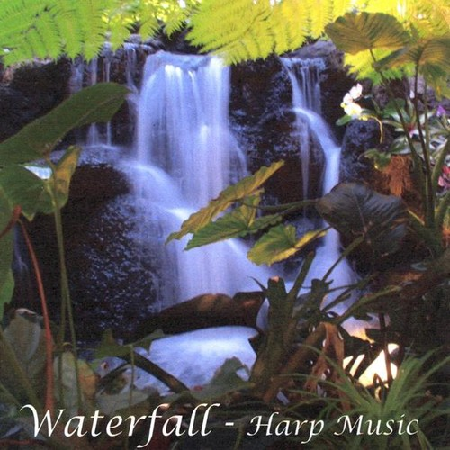 Waterfall - Harp Music