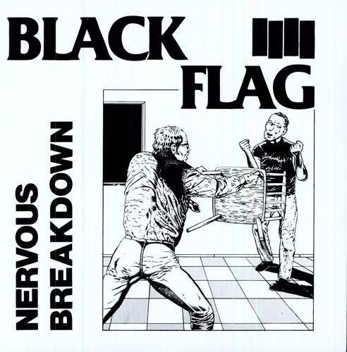 Black Flag - Nervous Breakdown Ep