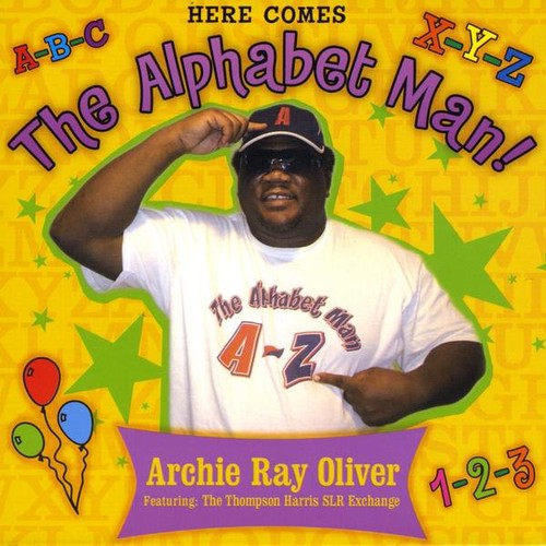 Here Comes the Alphabet Man!