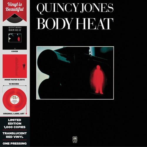 Quincy Jones - Body Heat (red Translucent Vinyl)