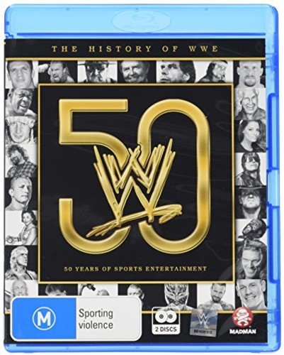 WWE: History of WWE - 50 Years of Sports [Import]