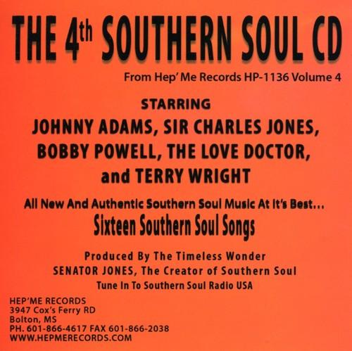 4th Southern Soul Cd-Vol-Four