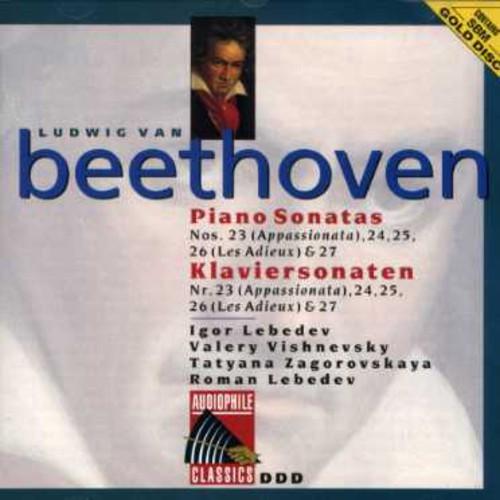Beethoven: Pno Sonatas Nos 23 - 26