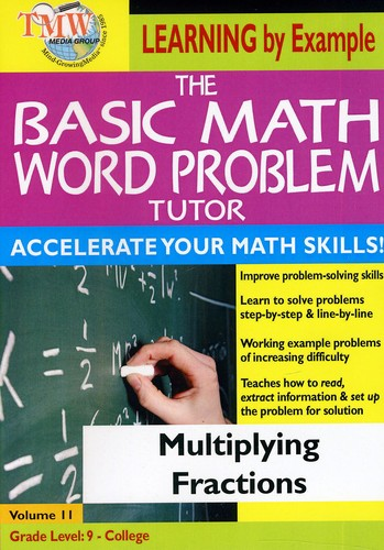 Basic Math Word Problms: Multiplying Fractions