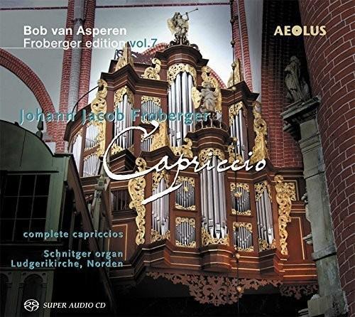 Bob van Asperen Froberger Edition: Capriccio