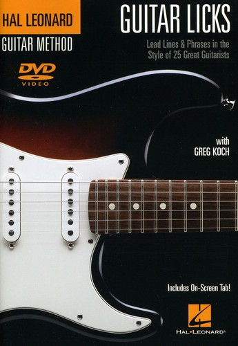 Guitar Licks: Lead Lines and Phrases in the Style of 25 Great Guitarists