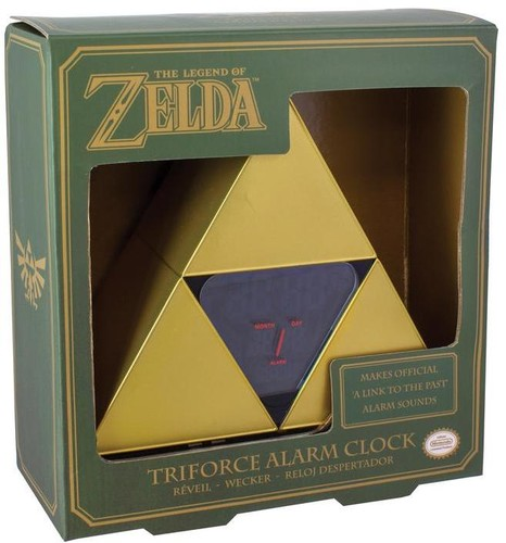 Legend of Zelda Triforce Alarm Clock - Legend of Zelda Triforce Alarm Clock