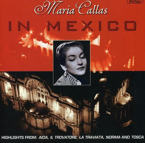 Maria Callas in Mexico