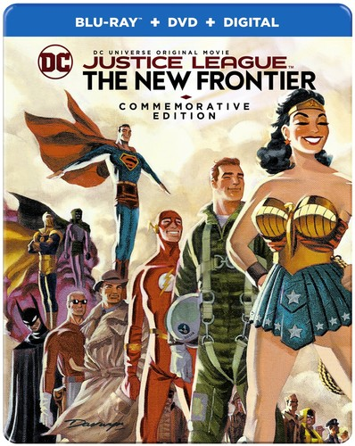 Justice League - Justice League: New Frontier Commemorative Ed