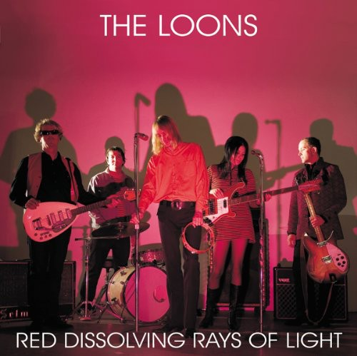 Red Dissolving Rays of Light