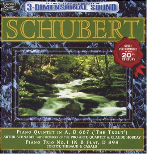 Schubert: Trout Quintet & Piano Trio No 1 /  Various