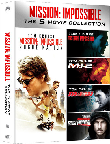 Mission: Impossible [Franchise] - Mission: Impossible 5-Movie Collection