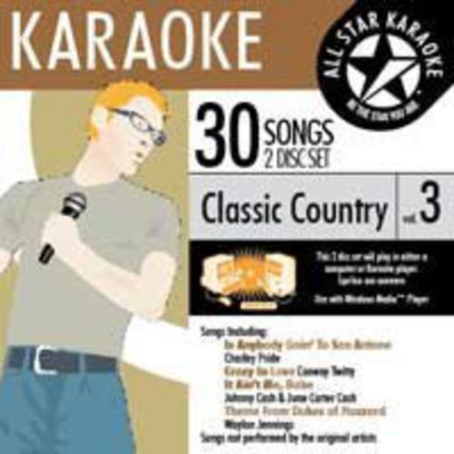 Karaoke: Classic Country, Vol. 3