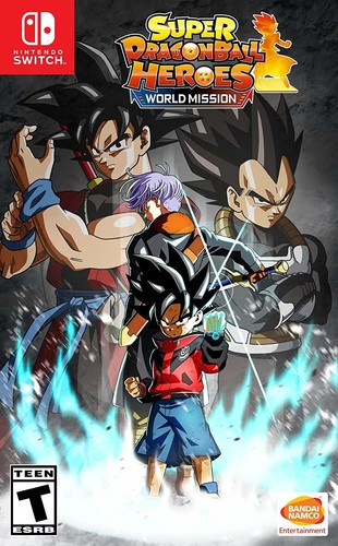 - Super Dragon Ball Heroes: World Mission
