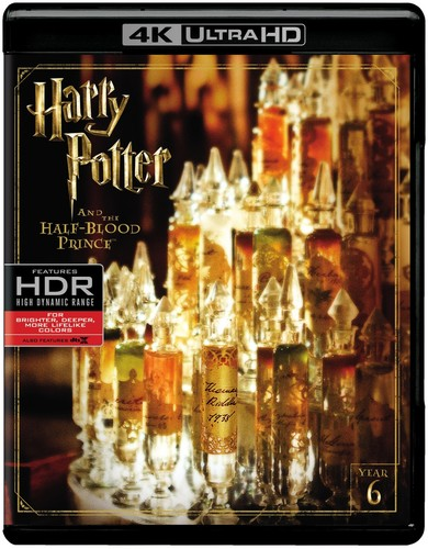 Harry Potter and the Half-Blood Prince [4K Ultra HD Blu-ray] [UltraViolet]