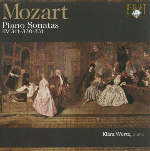 Piano Sonates KV 311-330-331